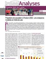 INSEE Analyses : projections de population à l'horizon 2050 : une croissance modérée en Indre-et-Loire